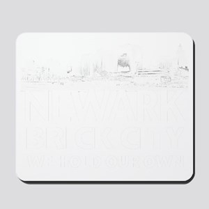 Brick City sweatshirt Mousepad