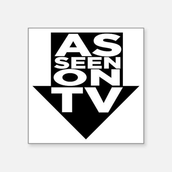"""AsSeenOn Square Sticker 3"""" x 3"""""""