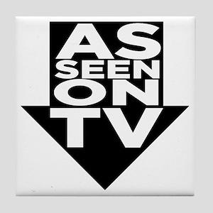 AsSeenOn Tile Coaster
