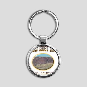 calico Round Keychain