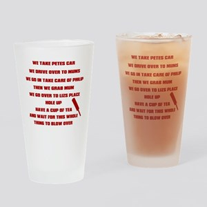 shaunofthedead Drinking Glass