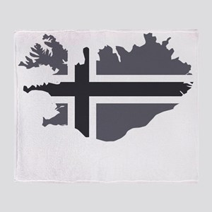 Öskuland Throw Blanket