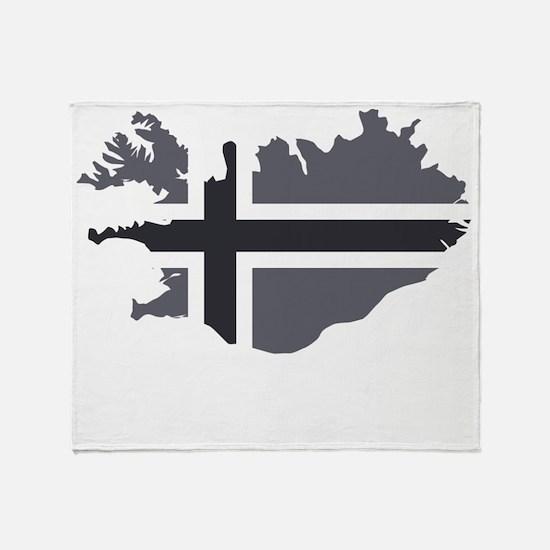 Öskuland Throw Blanket