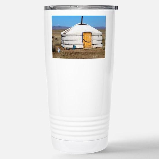 Cute Mongolia Travel Mug