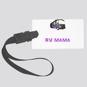 Unschooling RV MAMA - RV Momma H Large Luggage Tag