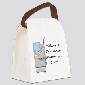 Dialysis 3 Canvas Lunch Bag