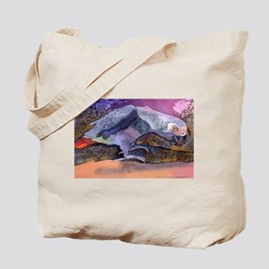 African Grey Parrot Beauty Tote Bag