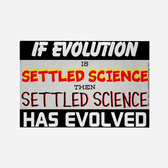 If evolution is 'Settled Science' Magnets