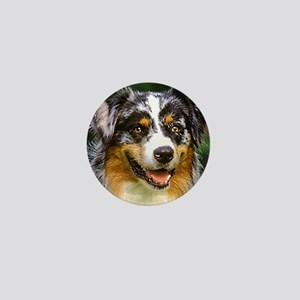 australian shepherd Mini Button