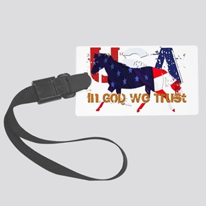 In God We Trust Large Luggage Tag