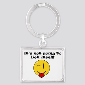 Its Not Going To Lick Itself Th Landscape Keychain