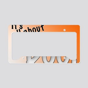 All About the Boo License Plate Holder