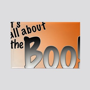 All About the Boo Rectangle Magnet