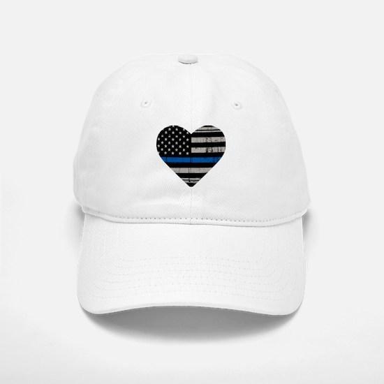Shop Thin Blue Line Baseball Baseball Cap