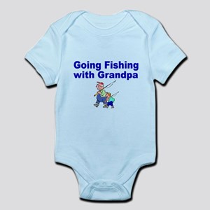 Going Fishing with Grandpa Body Suit