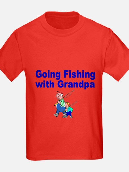 Going Fishing With Grandpa T-Shirt