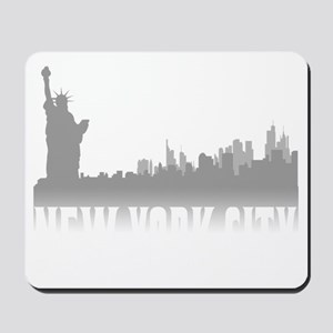 nyc(blk) Mousepad
