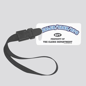 healertankdpscleric Small Luggage Tag
