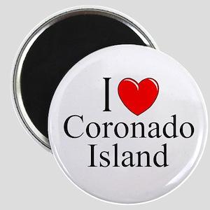 """I Love Coronado Island"" Magnet"
