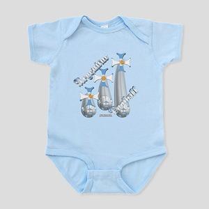 Raining Argentine Football Infant Bodysuit