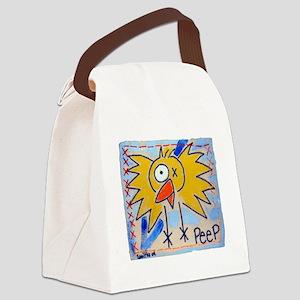 bird copy Canvas Lunch Bag