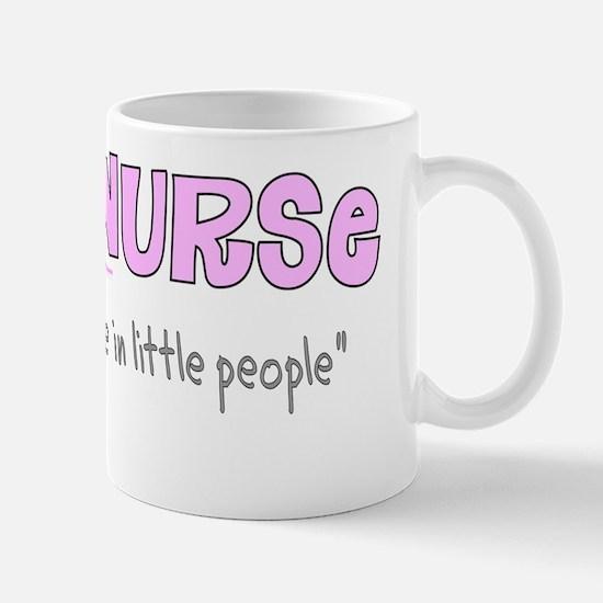 PEDS nurse 2011 Pink Mug