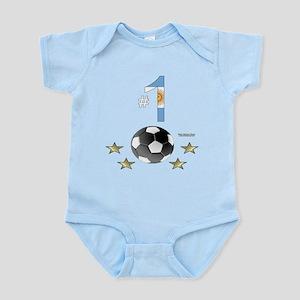 No. 1 Football Infant Bodysuit