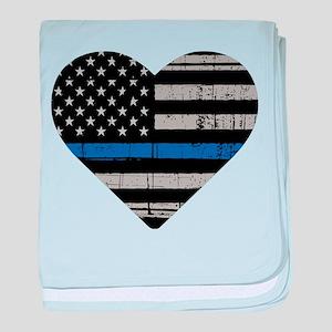 Shop Thin Blue Line baby blanket
