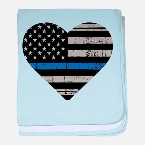 Shop Thin Blue Line baby blanket
