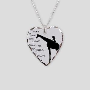 stolengiraffe3 Necklace Heart Charm