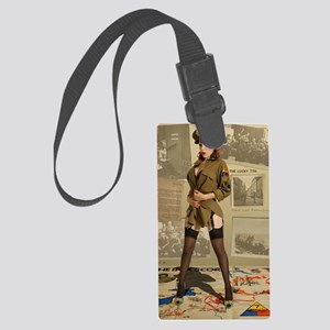 The Lucky 7th Large Luggage Tag