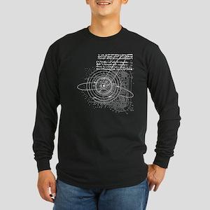 Solar Long Sleeve Dark T-Shirt