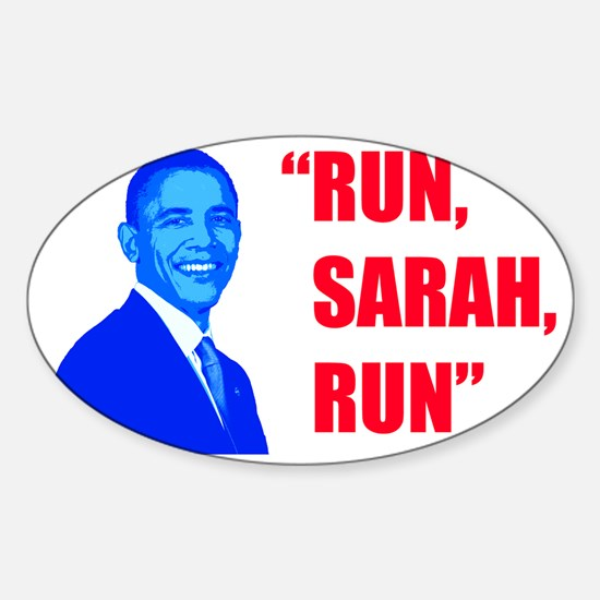 runsarahrun6 Sticker (Oval)