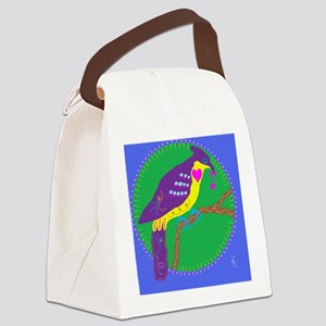 cuckoo Canvas Lunch Bag