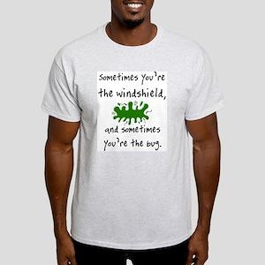 The Windshield & The Bug Ash Grey T-Shirt