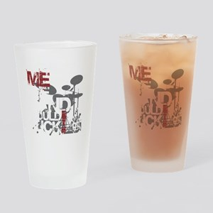 Without-Me-Band-Suck Drinking Glass