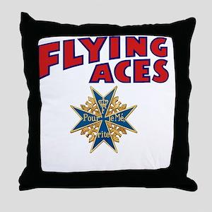 FAC_logo_ONE_4B_dark Throw Pillow
