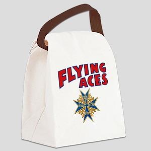 FAC_logo_ONE_4B_dark Canvas Lunch Bag