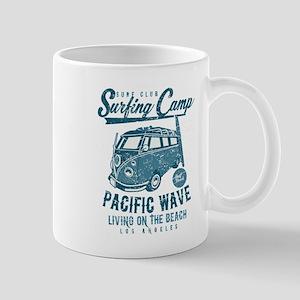 Surfing Camper Mugs