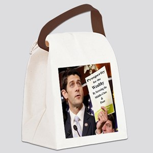 Paul Ryan Screw Working Class Bud Canvas Lunch Bag