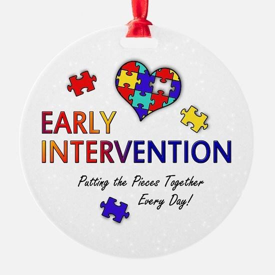earlyintervention-button Ornament