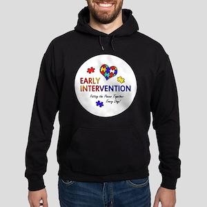 earlyintervention-button Hoodie (dark)