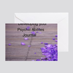 Developing Psychic Ability Journal Greeting Card