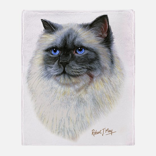 Birman Throw Blanket