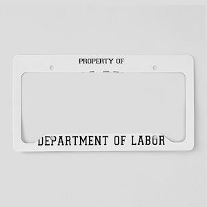 propofUILT License Plate Holder
