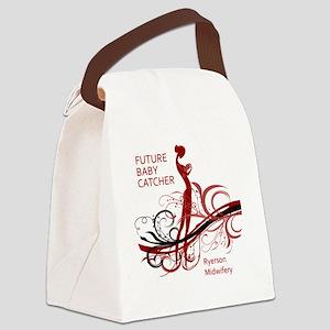 ryerson midwifery reds Canvas Lunch Bag