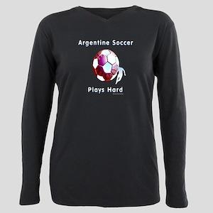 Argentine Sunball Plus Size Long Sleeve Tee