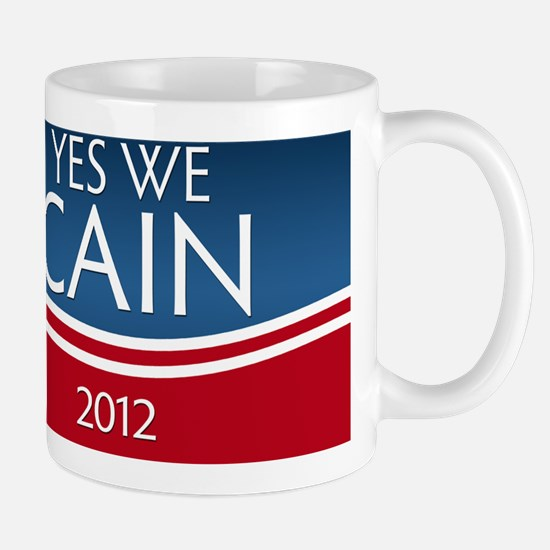 yes_we_cain_resize_square Mug