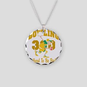 bowl67black Necklace Circle Charm