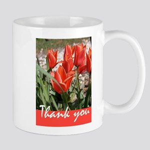 Fire Tulips Mugs